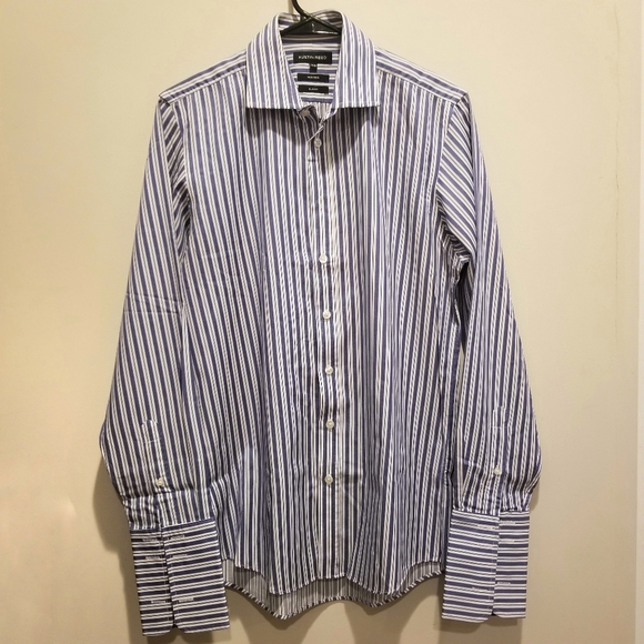 Austin Reed Shirts Euc Austin Reed Mens Stripe Dress Shirt Poshmark